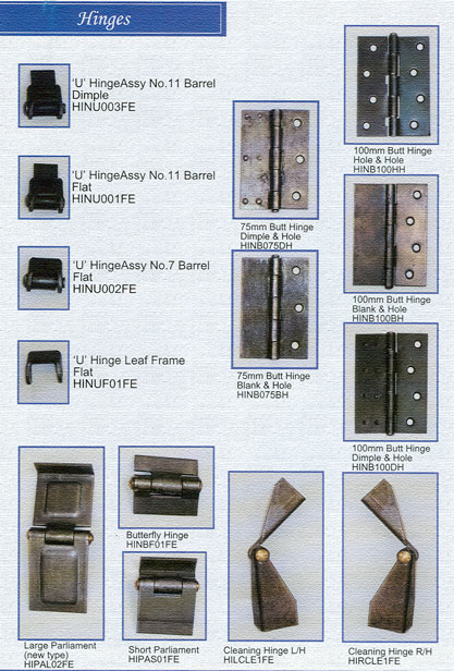 Trifon Industries Hinges